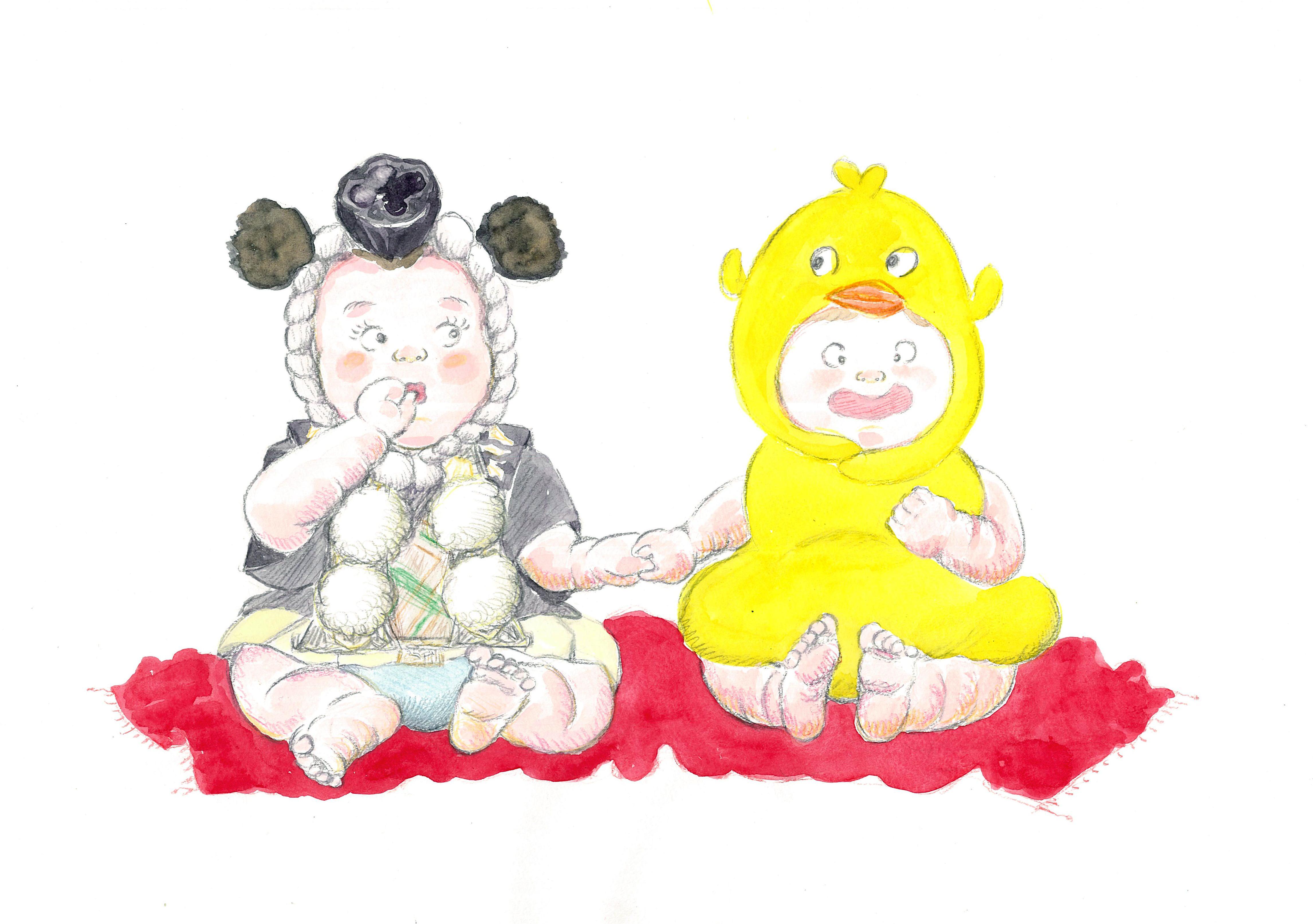 ベビーと一緒にはじめる歌舞伎・かぶこっこ 「歌舞伎の隈取を食べよう!」