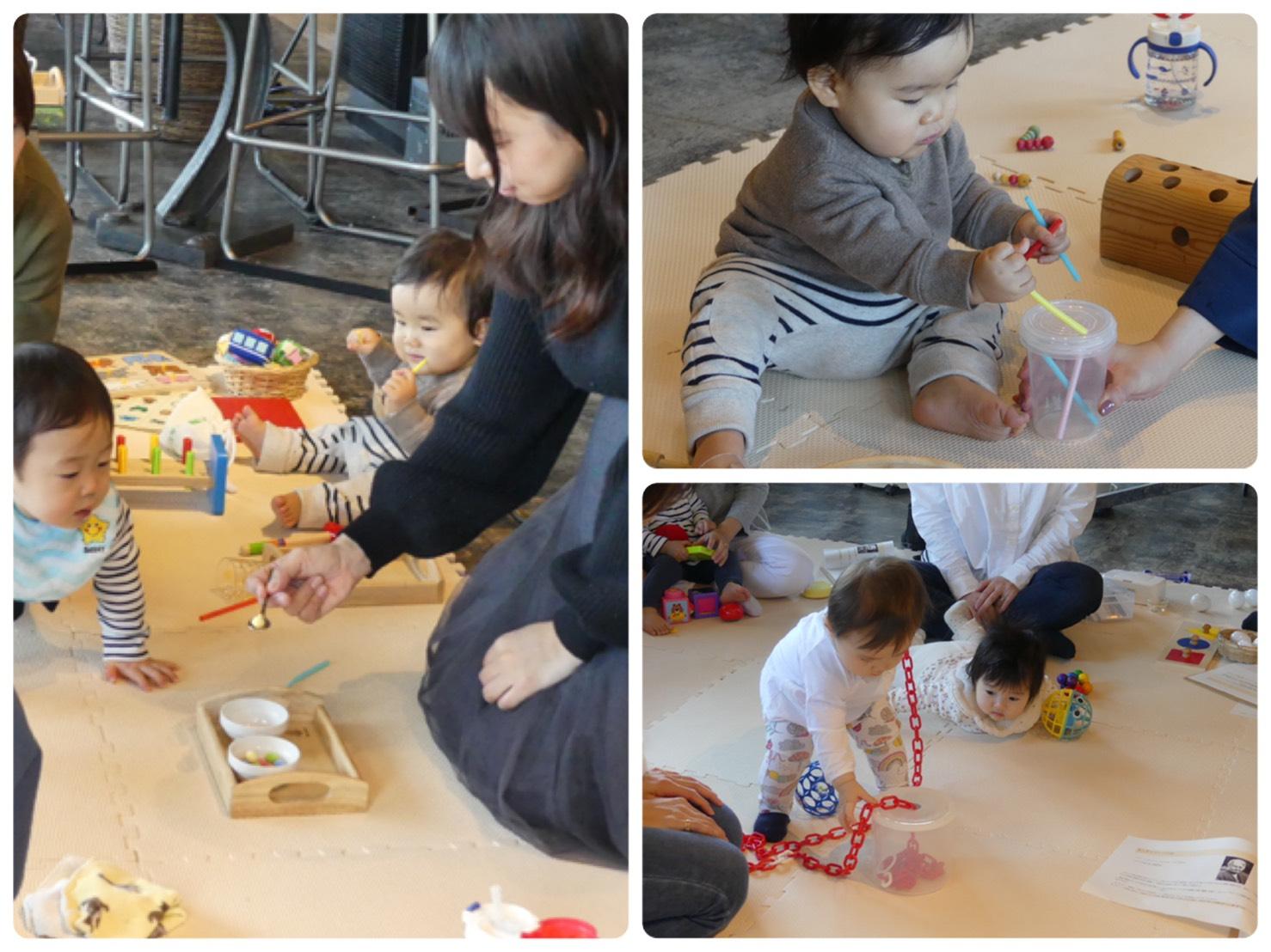 【10月19日】ママと赤ちゃんがいっしょに楽しい、おうちでモンテッソーリ教育講座