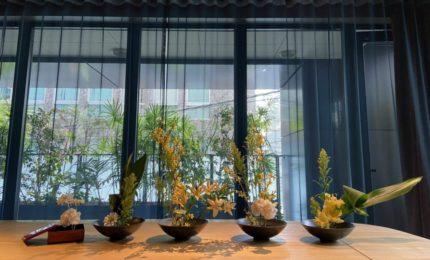 秋のお花で華道体験 in TOKYO CRAFT ROOM