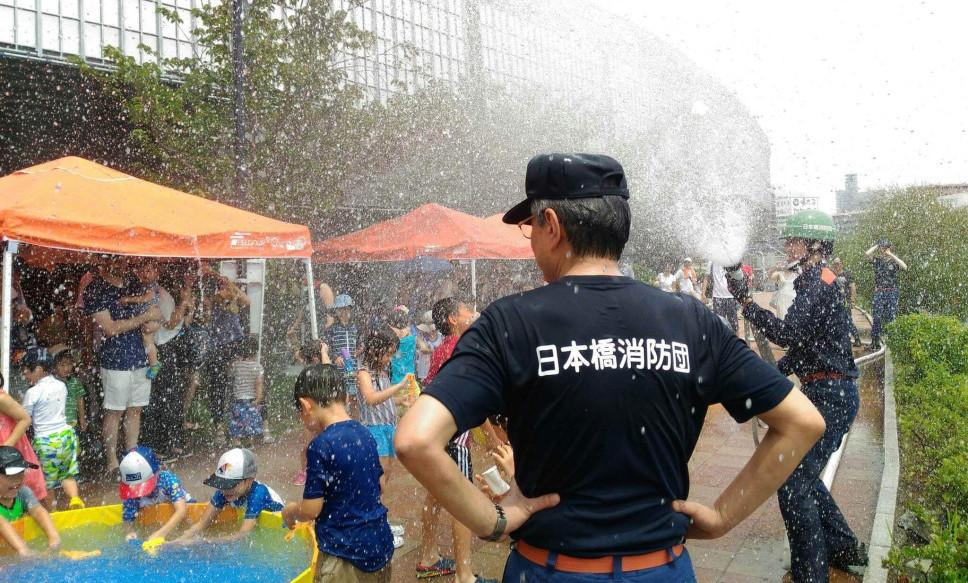 親子防災フェスティバル-消防署でのプール遊びで、夏の水難事故を防ぐ-2019年7月21日(日)
