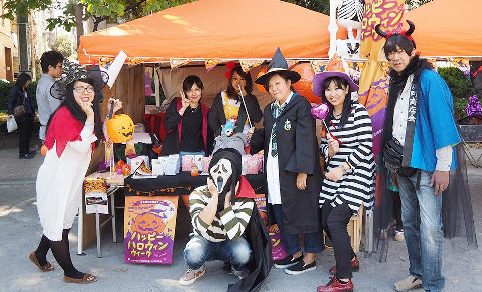週末のおでかけぴったり!浜町で移動商店街&ハロウィーンイベントを開催!2019年10月27日(日)