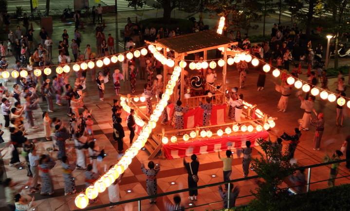盆踊り大会 2019年7月13日(土)、納涼大会7月14日(日)(浜町三丁目西部町会)