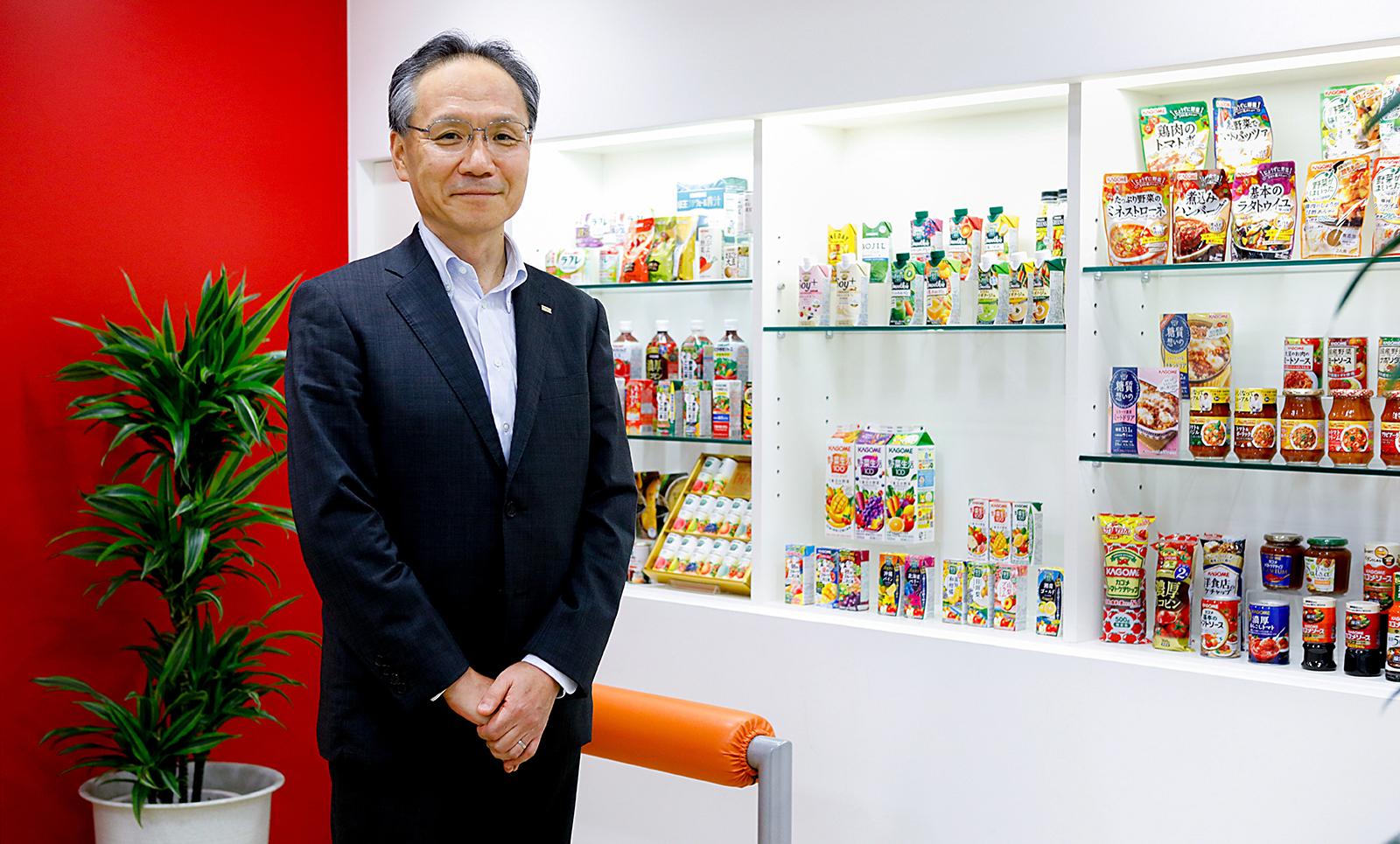 カゴメ株式会社 代表取締役社長 山口聡さん