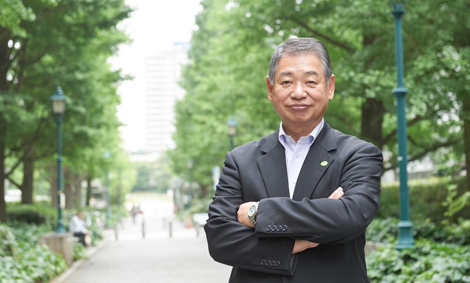 日本橋五の部連合町会 会長  髙橋伸治さん