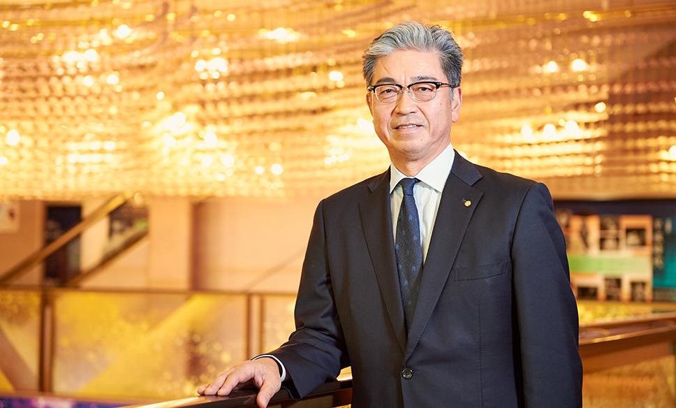 株式会社明治座 代表取締役社長 三田芳裕さん