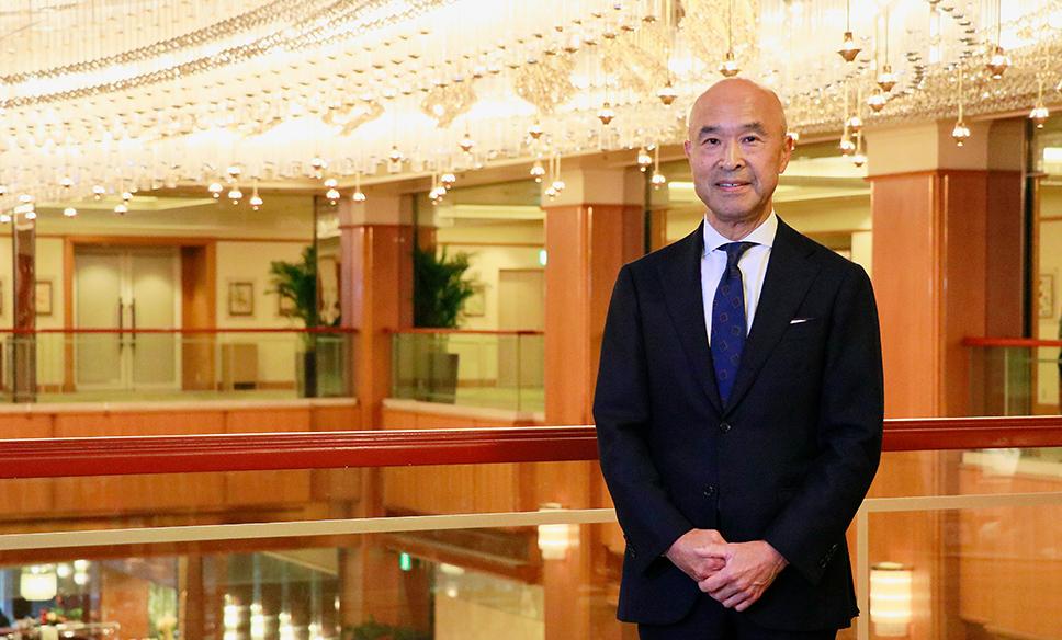 ロイヤルパークホテル 取締役社長 荒畑和彦さん