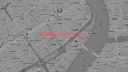 浜町 かねこ 店主 金子泰史さん地図