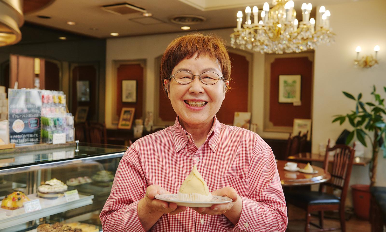 東京洋菓子倶楽部 会長 木村ヨシ子さん